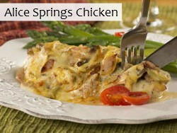 ... Blog + News: Pineapple Fluff, Alice Springs Chicken & More Recipes