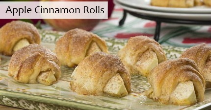 apple cinnamon rolls we gave your favorite easy cinnamon roll