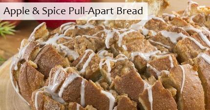 Apple & Spice Pull-Apart Bread